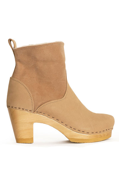 "Bone 5"" Pull On Shearling Boot"