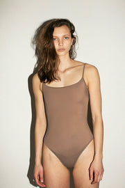 Taupe Noodle One Piece