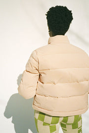 Tan Puff Armstrong Jacket