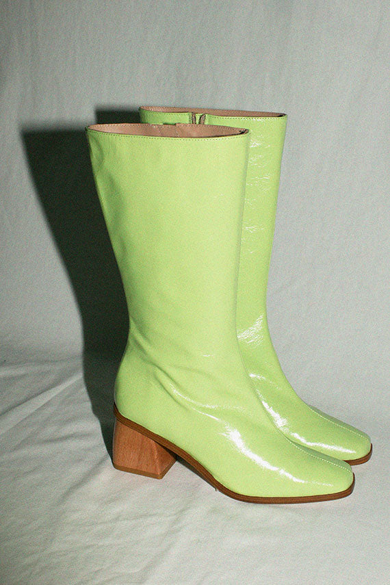 Lime Green Emiliana Boot
