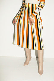 Multi Stripe Marika Skirt