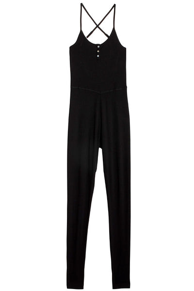 Black Asana Jumpsuit