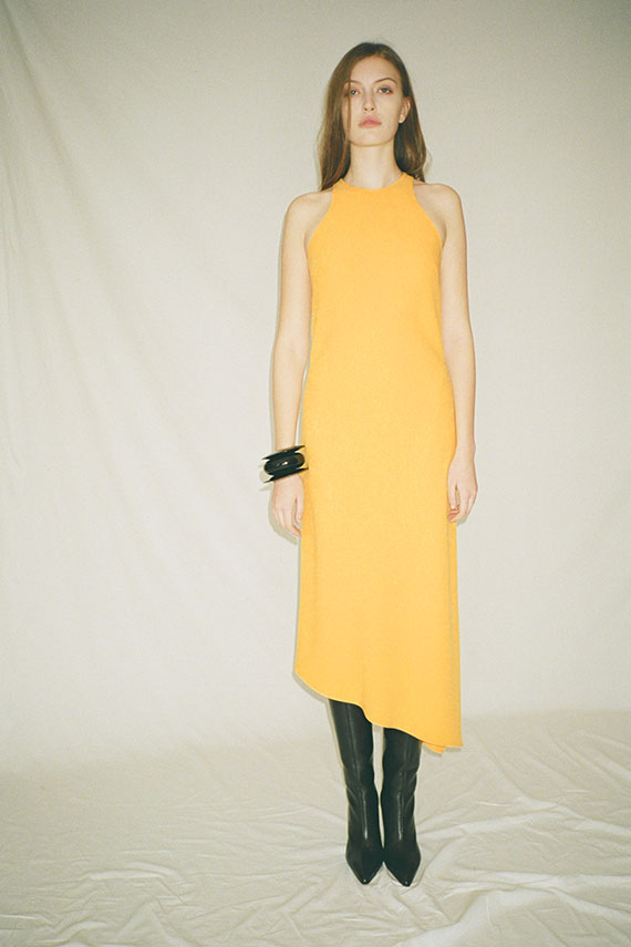 Sole Yellow Racerback Dress