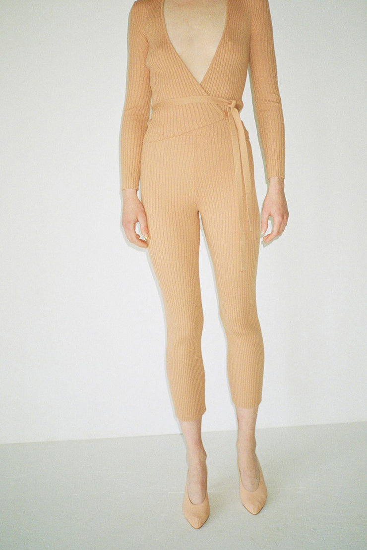Bandaid Ribbed Pant