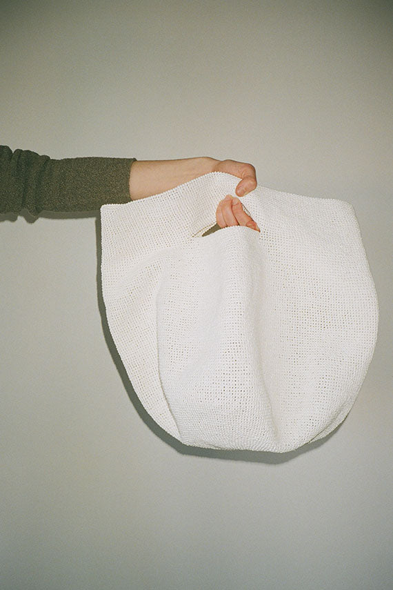 White Bowl Bag