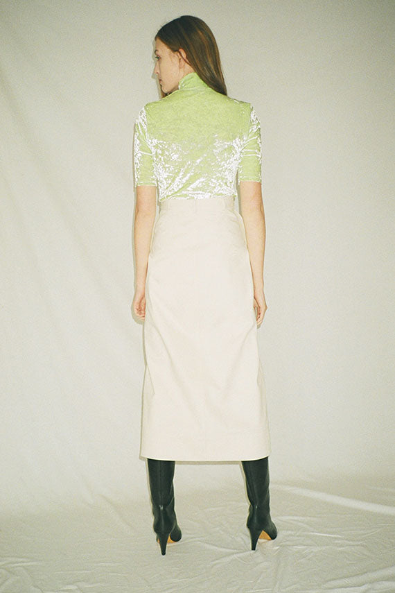 Nomia - Natural Long Work Skirt