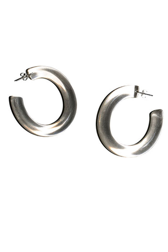 Clear Resin Rome Hoops