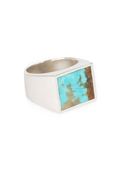 Turquoise Silver Signet