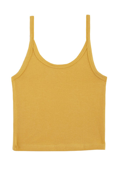 Chartreuse Crop Tank