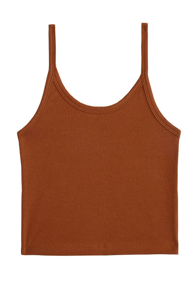 Toffee Crop Tank