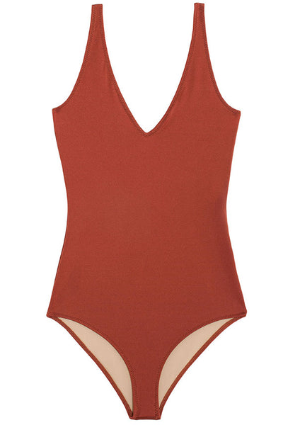 Brown Iscias Swimsuit