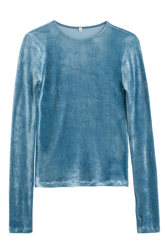 Temporary Blue Omo Long Sleeve