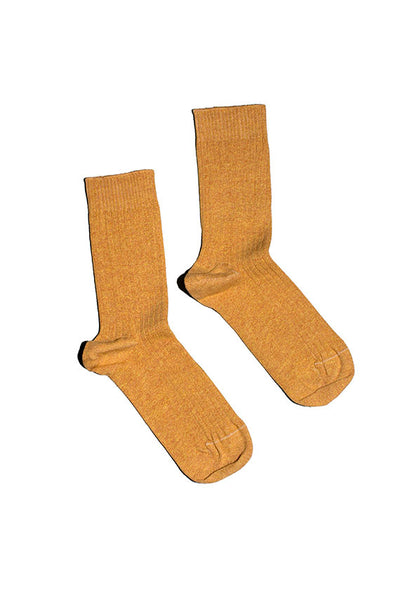 Tove Melange Ribbed Ankle Socks