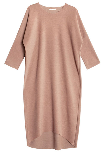 Camel Long Bud Dress