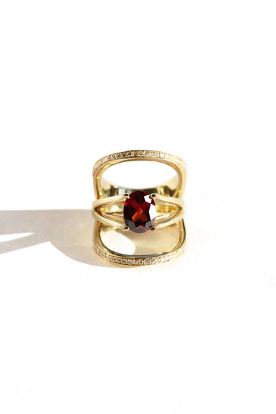 Garnet Bliss Ring