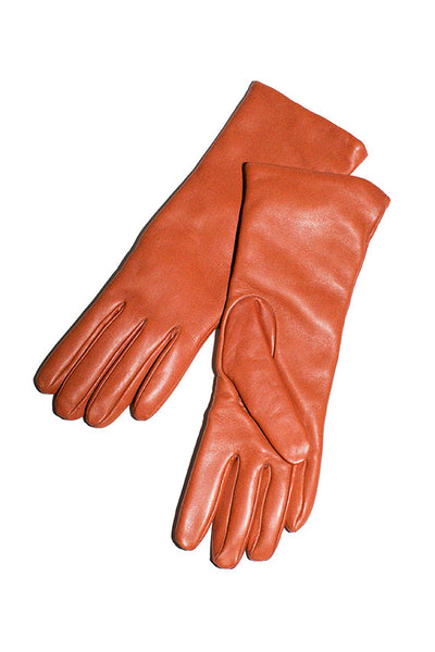 Burnt Orange Lambskin Glove