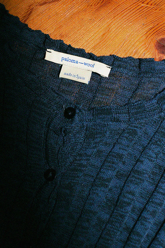 Paloma Wool cobalt mayo sweater