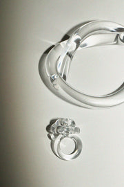 Clear Thick Knot Bracelet