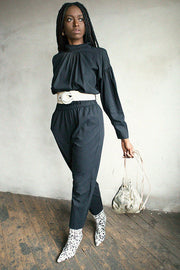Midnight Tulip Jumpsuit