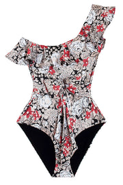 Irish Cream Floral Prentis Swimsuit