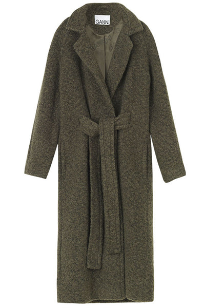 Kalamata Long Wrap Coat
