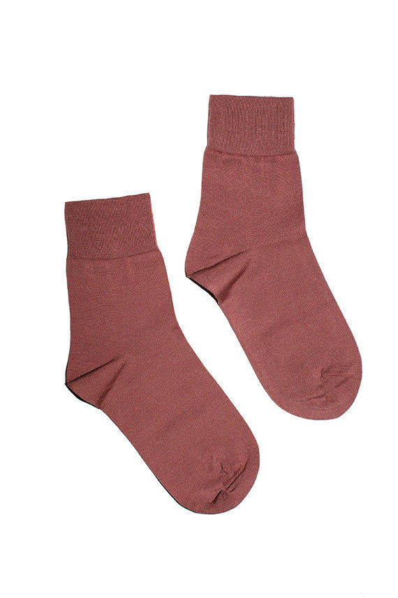 Rosebud crew socks by Hansel from Basel