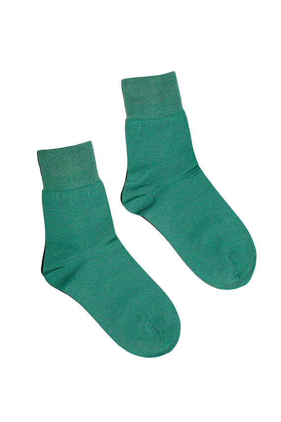 Sea green socks by Hansel from Basel