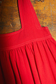 Burnt Red Cameron Dress