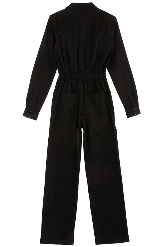 Black Longsleeve Danny Boilersuit