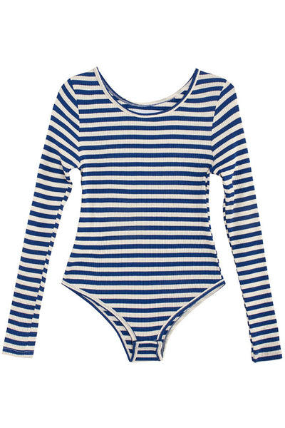 Longsleeve Striped Connor Bodysuit