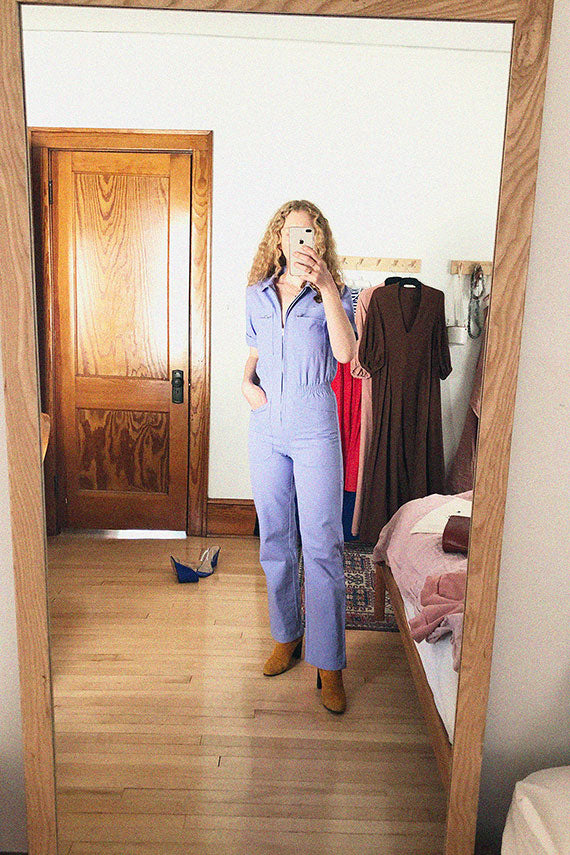 Lilac Danny Boilersuit