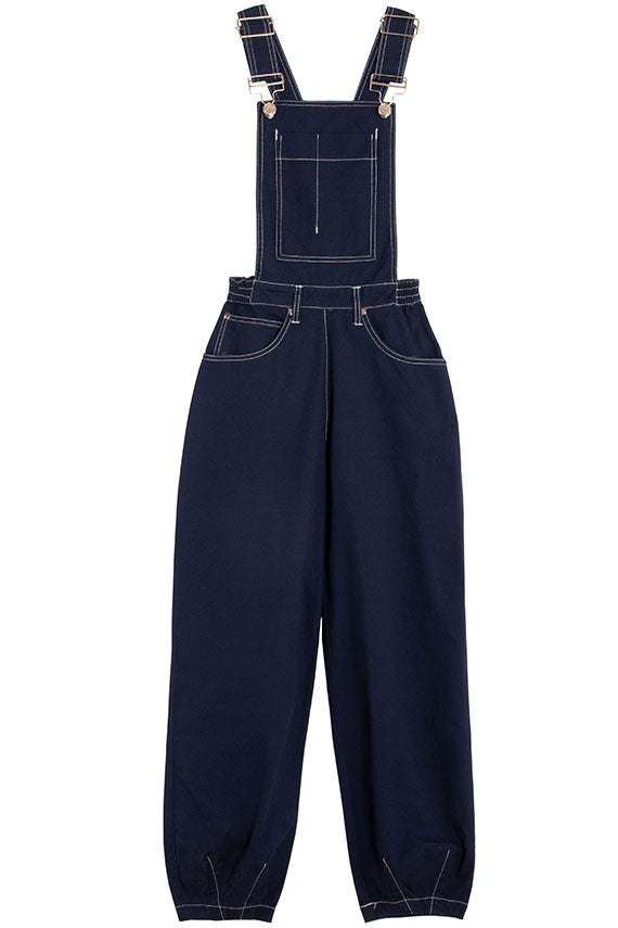 Navy Fat Boys Dungaree