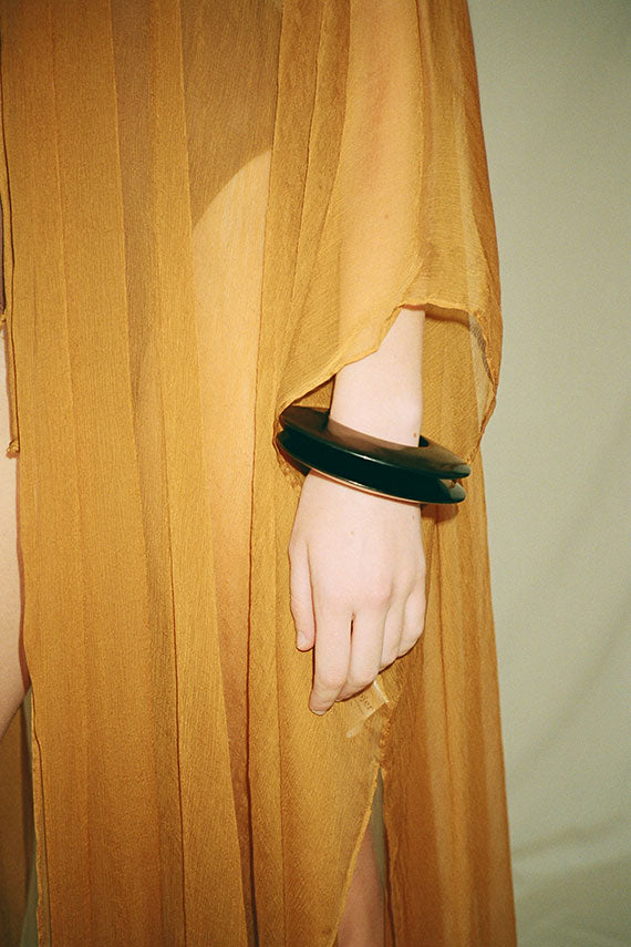 Exclusive Opaque Black Meridian Cuff