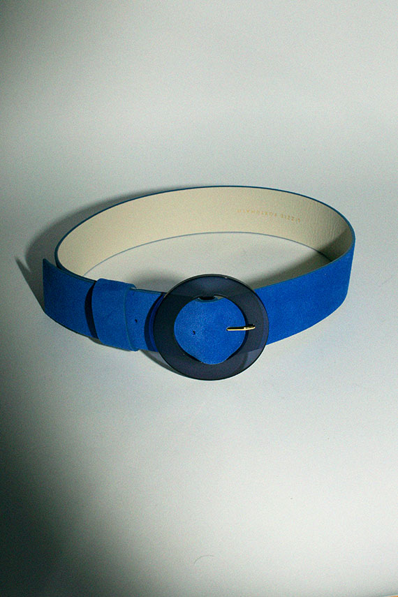 Electric Blue Louise Belt