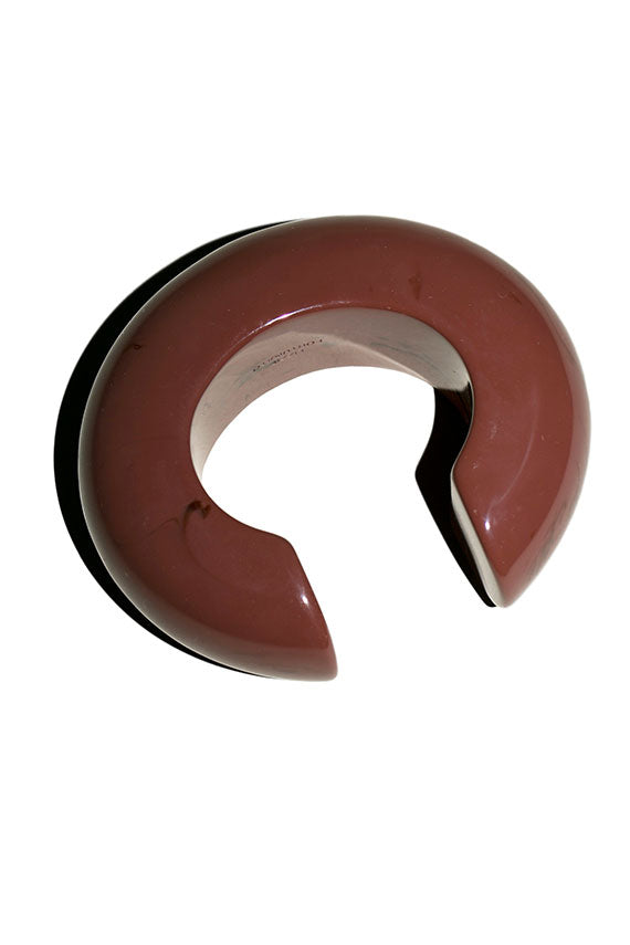 Chocolate Arc Cuff