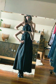 Black Graziella Dress