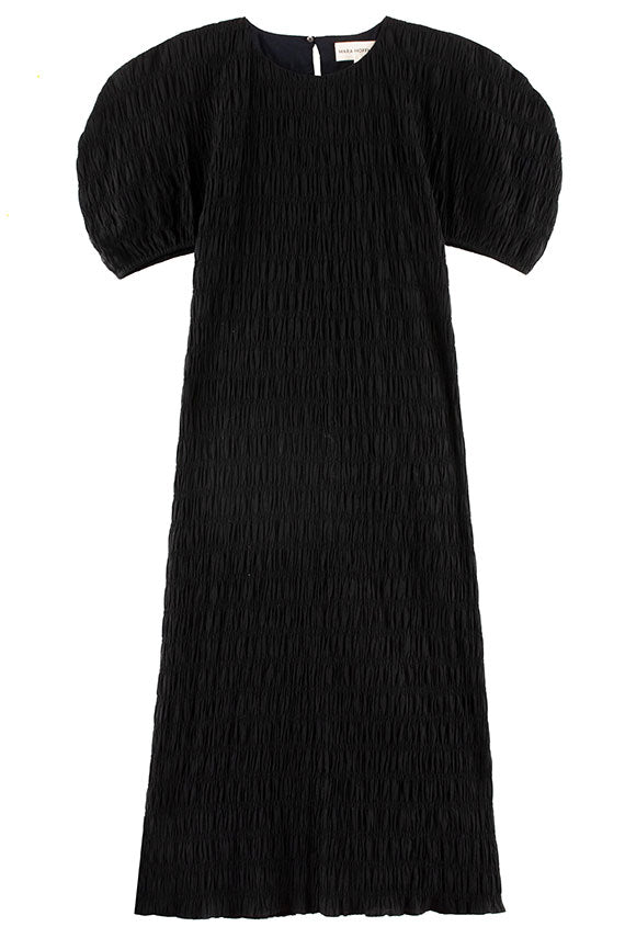 Mara Hoffman Black Aranza Dress