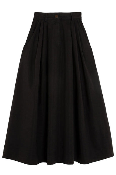 Black Tulay Skirt