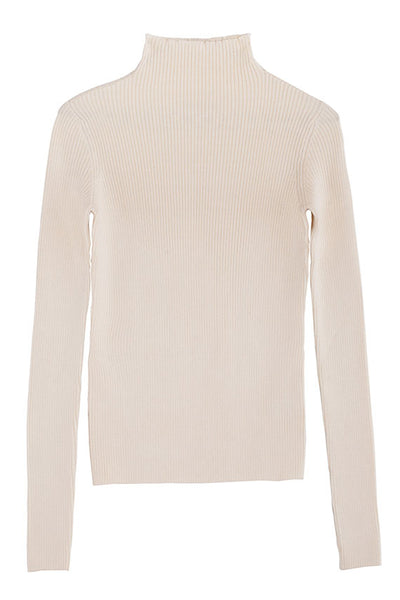 Cream Ora Turtleneck