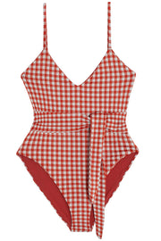 Gamela Plaid One Piece