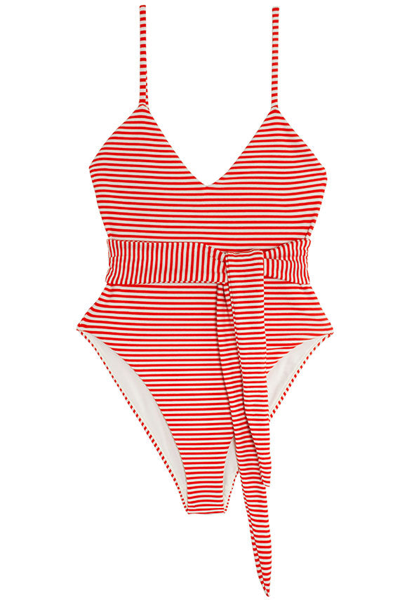 Striped Gamela One Piece