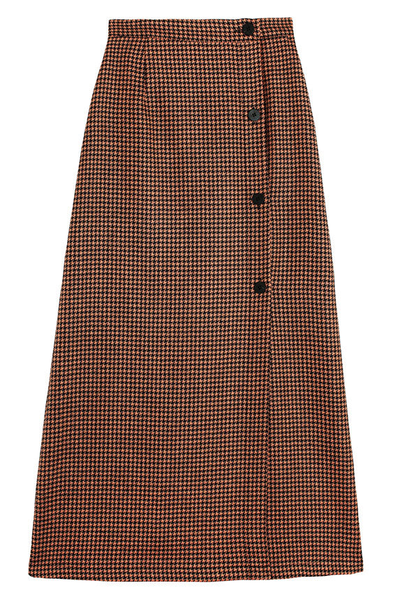 Houndstooth Hall Skirt