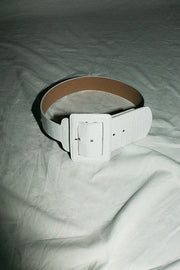 White Croc Win Belt