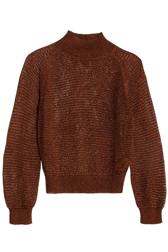 Chocolate Joni Sweater
