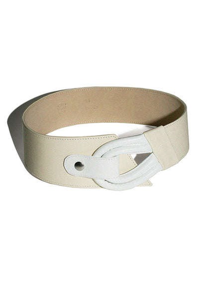 Maryam Nassir Zadeh Cream Adela Belt