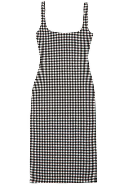 Black Gingham Salma Dress