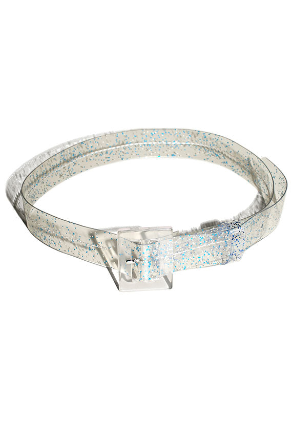 Blue Sparkle Soledad Belt