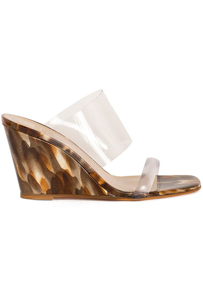 Caramel Olympia Wedge
