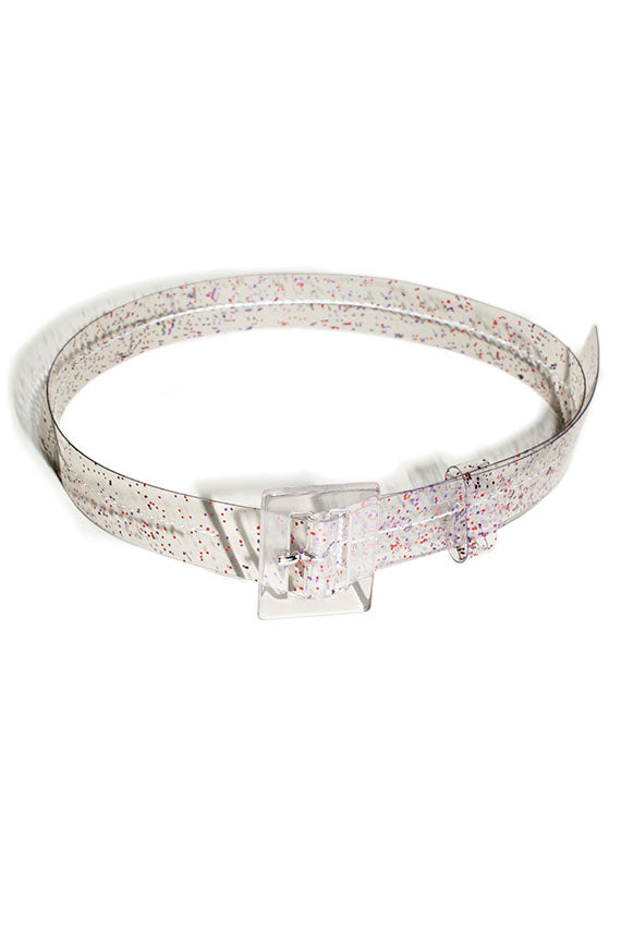 Red Sparkle Soledad Belt