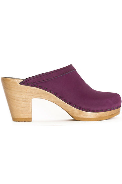 Purple Old School Clog